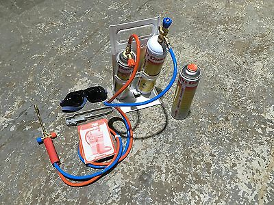 SPECIAL OFFER! CASTOLIN EUTECTIC GAS LEAD WELDING-BRAZING KIT COMPLETE WITH GAS