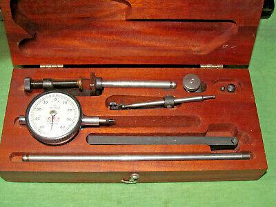 Vintage Cdi Chicago Usa Dial Indicator Set In Original Wood Box - Pn 2-b50-250