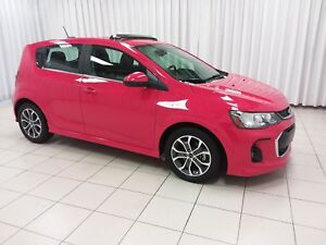 2018 Chevrolet Sonic LT RS TURBO 5DR HATCH w/ HEATED FRONT SEATS