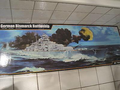 German Bismarck Battleship Schlachtschiff riesengross 1:200 *NEU* mit Ätzteile