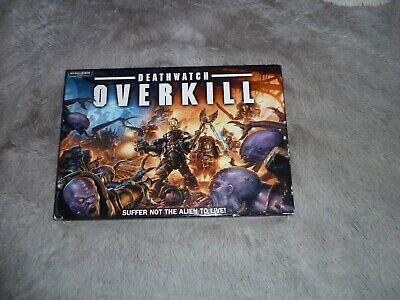 Warhammer 40k Deathwatch Overkill Game Kit