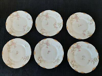 Theodore Haviland Limoges Schleiger 144F Salad Plate - Set of 6 Haviland Limoges Set