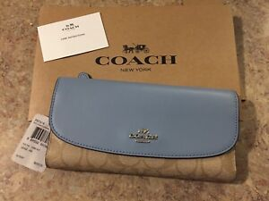 Brand new with tags - Coach Checkbook Wallet