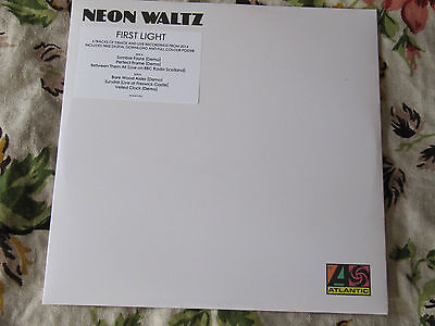 """Neon Waltz First Light Perfect Frame 12"""" Vinyl SEALED POSTER + DOWNLOAD"""