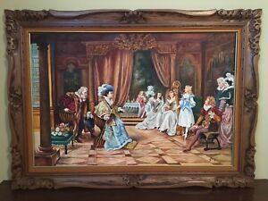 Encadrement antique Peinture sur toile
