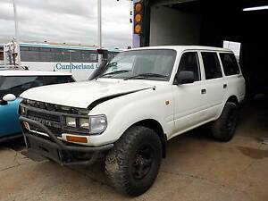 WRECKING 1993 TOYOTA LANDCRUISER 80 SERIES 4.2L DIESEL MANUAL North St Marys Penrith Area Preview