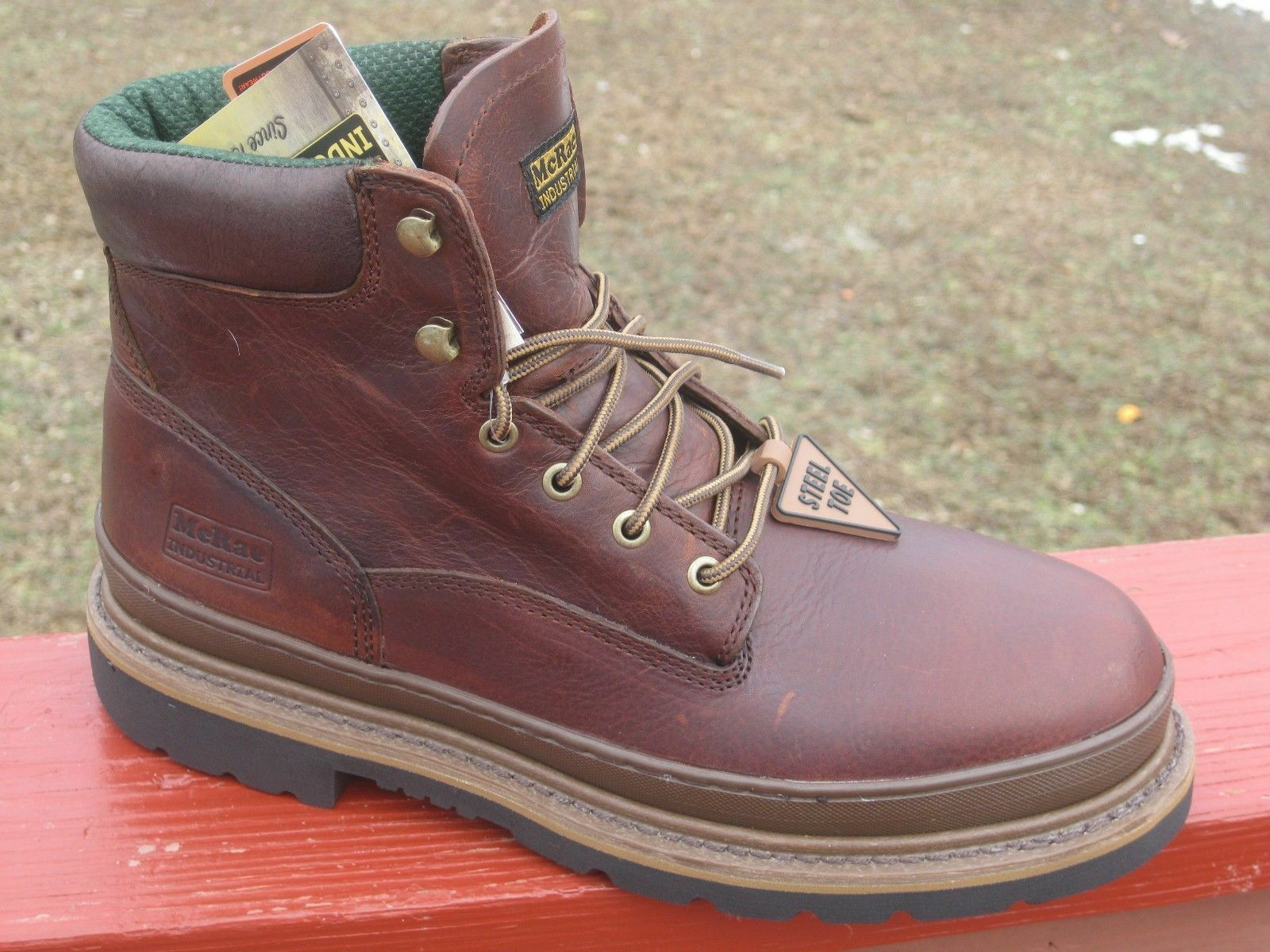 Top 10 Steel Toe Work Boots | eBay