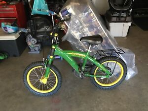 16 inch boys JOHN Deere bike