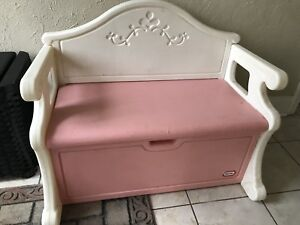 Little tikes Bench and toy chest