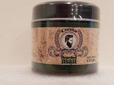 Bearded Man BERGAMOT 4.40 OZ BEARD & MUSTACHE BERGAMOTA BARBA BIGOTE 125 GR