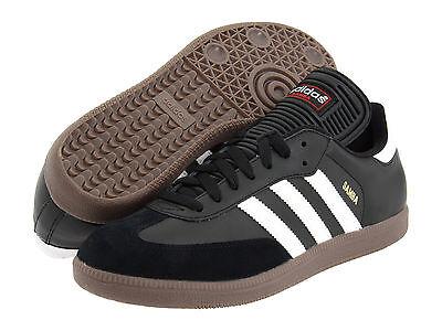 Adidas Samba Classic Black Athletic Lifestyle Casual Shoes 034563 Mens 6.5-13.5