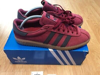 IBWT Adidas Originals Bermuda Burgundy - UK 9 - EU 43 1/2 - US 9 1/2