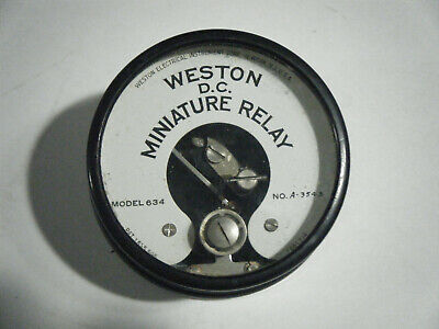 Vintage Weston Model 634 D.c. Miniature Relay New Old Stock