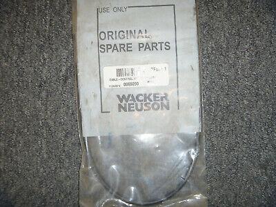 Wacker Neuson Bs60y Bs62y Bs65y Rammer Throttle Cable 630mm 0065090 Oem New