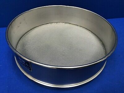 Humboldt No. 40 Usa Standard Testing Sieve Stainless Steel 12dia X 3-14deep