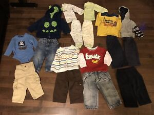 Lot of 12 months baby clothes