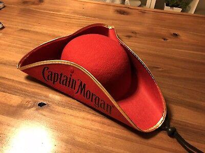 Captain Morgan Hut Piratenhut Dreispitz Fasching,Karneval,Kostüm,Kopfbedeckung