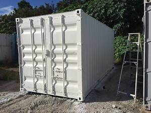 20 FOOT SHIPPING CONTAINER  REPAINTED INSIDE & OUT GOOD CONDITION Jacobs Well Gold Coast North Preview