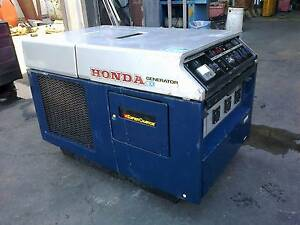 Honda EX5500 silenced generator Capalaba Brisbane South East Preview