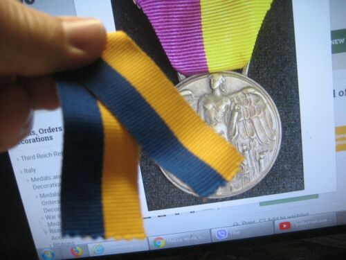 /Italy Medal Ribbon Comm.Medal of the March on Rome