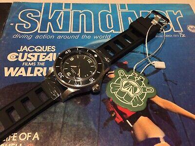 Steeldive 50 Fathom 300m Dive Watch Stainless Ceramic Seiko NH35 41mm Sterile