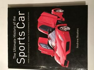 Classic Car books - coffee table style