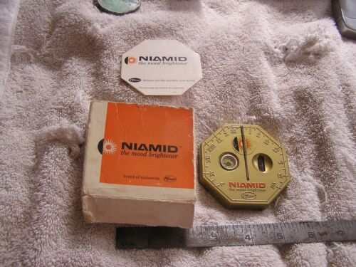 Niamid  The Mood Brightener Sundial By Pfizer in Box