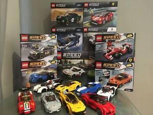 Lego Speed Champions - many retired