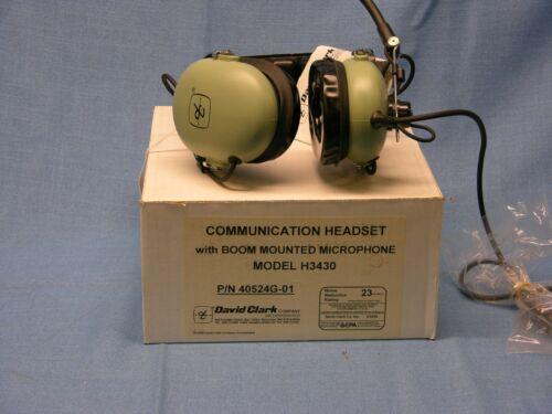 NEW David Clark H3430 Headset.