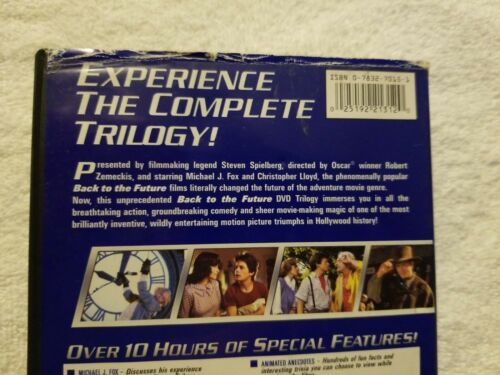 Back To The Future - The Trilogy - 3 MOVIES DVD, 2002, 3 Disc Set  - $25.00