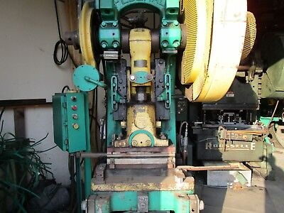 Federal F5 50 Ton Mechanical Stamping Press Punch