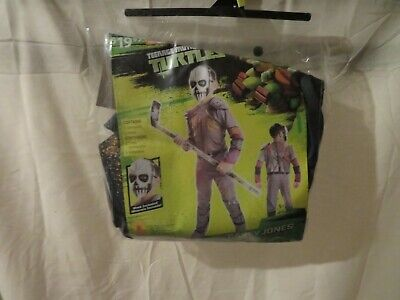 Casey Jones Costume (NWT Boys Teenage Mutant Ninja Turtles Casey Jones Halloween Costume, Size)