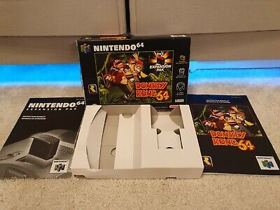 Donkey Kong 64 Nintendo N64 Game - Boxed with Manual - Box and Manual Only