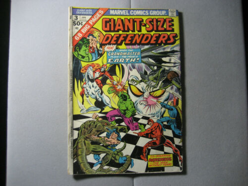 Giant-Size Defenders #3 (1975, Marvel) MVS STAMP INTACT