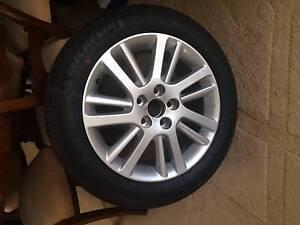 "Toyota Aurion/Camry GSV40R (*****2012) Genuine OEM 17"" Rim & Tyre Bondi Junction Eastern Suburbs Preview"