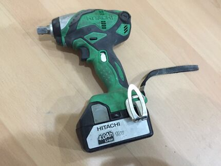 Hitachi 18v Lithium-Ion Impact Wrench (WR18DSDL) Brunswick East Moreland Area Preview