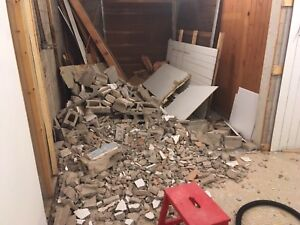 Debris/trash removal/moving out cleaning/shed & deck demolition