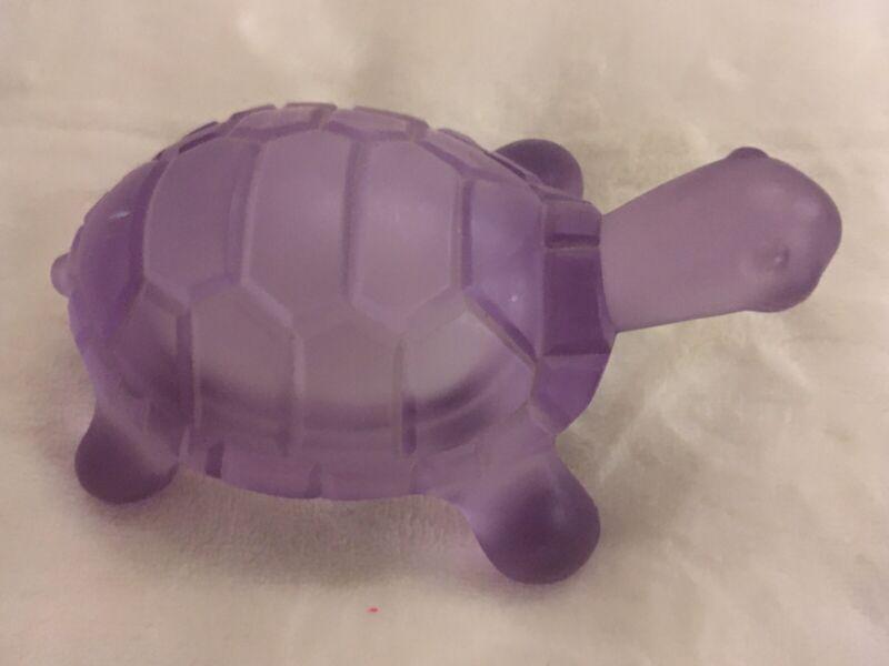 Purple Glass Turtle