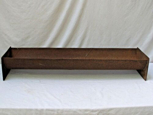 Antique Large  Cast Iron Trough 1of 2
