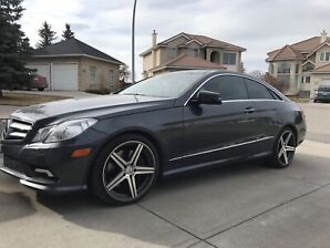 2010 Mercedes Benz E550 coupe