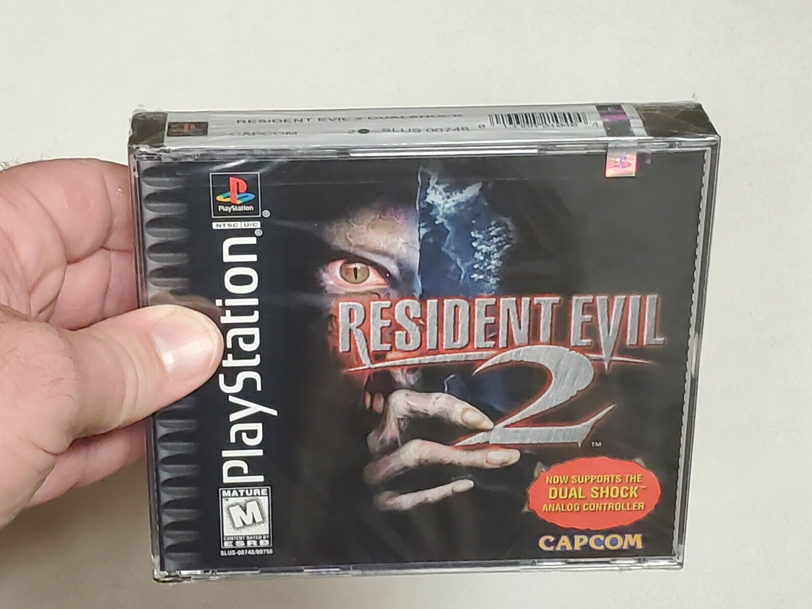 Resident Evil 2 Dual Shock - Brand New Sealed PlayStation 1 PS1 Game Complete - $325.00