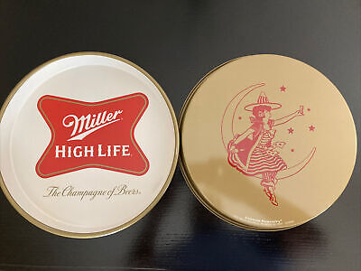 Beer Tray miller high life tray metal vintage beer tray