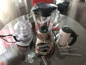 Food processor, blender, mixer