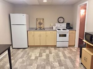 Fully furnished in law suite for rent
