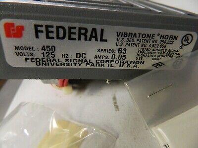 Gray NIB Federal Signal WB Weatherproof Back Box Housing Accessory