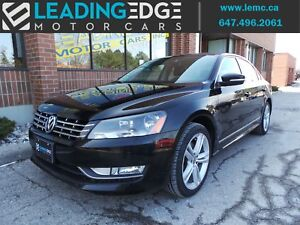 2013 Volkswagen Passat 2.0 TDI Comfortline Leather, Sunroof,...