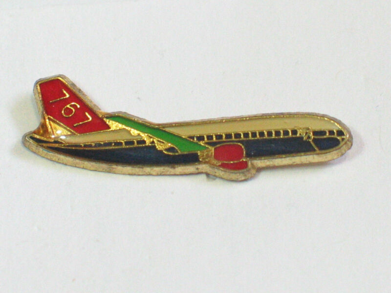 Boeing 767 Aircraft Lapel Pin