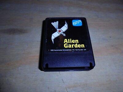 Atari Computer 400 800 XL XE Alien Garden tested and working