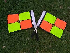 Official Soccer linesman flags Pennant Hills Hornsby Area Preview