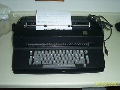 Ibm Correcting Selectric Ii Typewriter - Black Used But Working